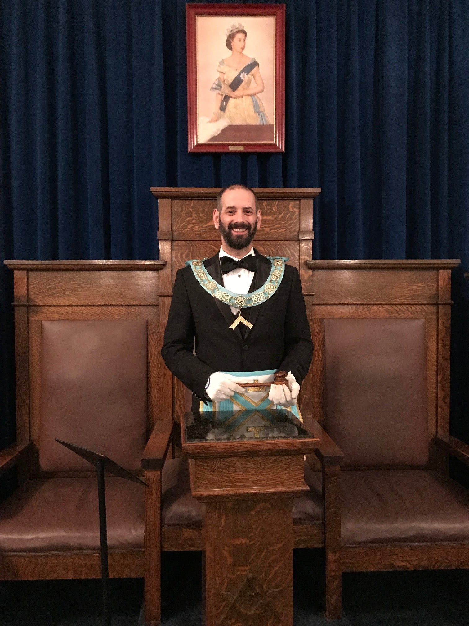 Jason Solomon, W.M. Ionic Lodge no. 526