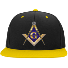Load image into Gallery viewer, Flat Bill High-Profile Snapback