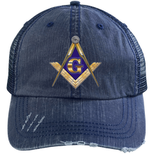 Load image into Gallery viewer, Distressed Trucker Cap