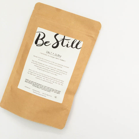 Bath teabag: Be Still
