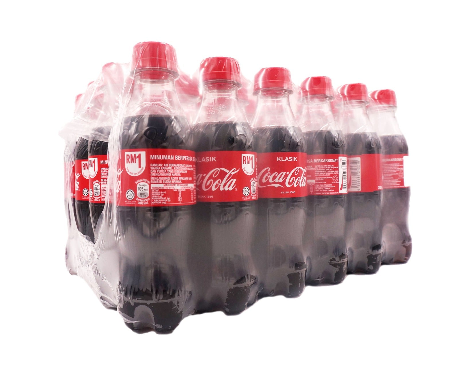 Coca Cola Classic Bottle (24 x 250ml - Carton)