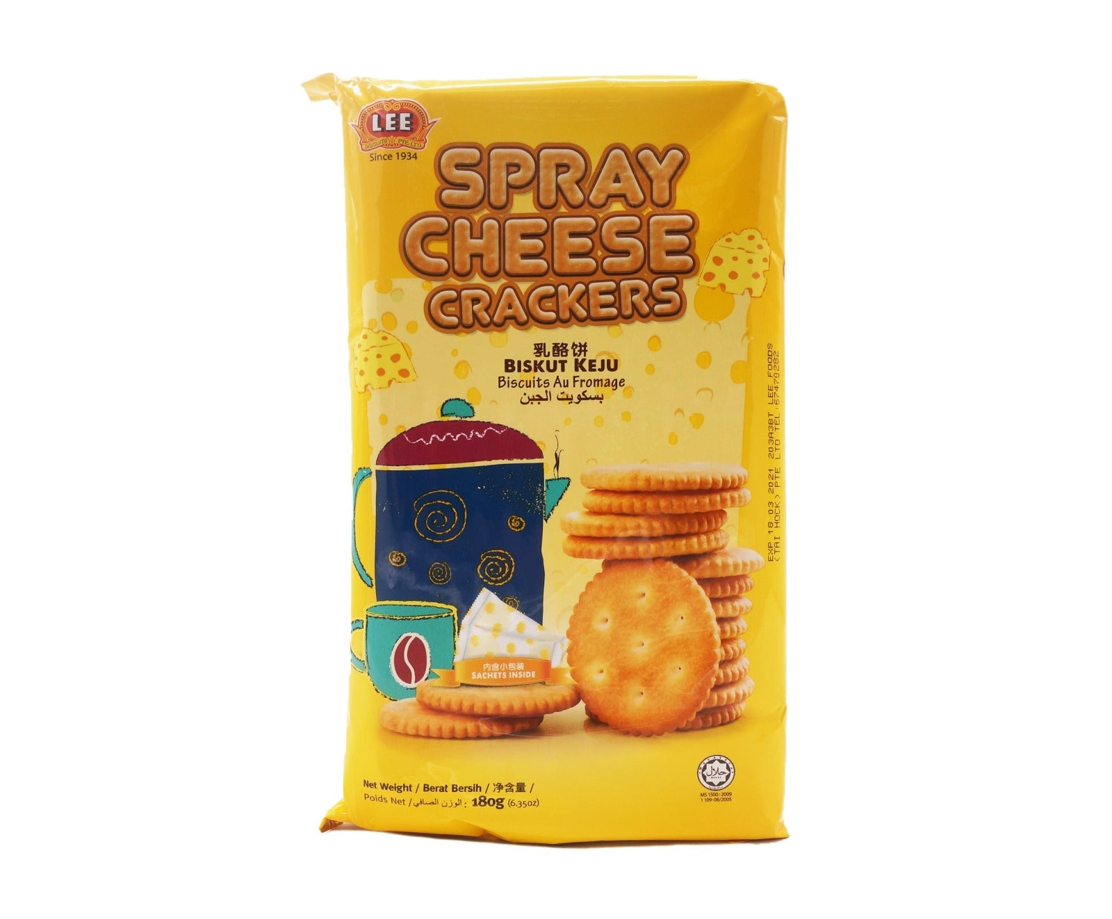Lee Spray Cheese Crackers (180g – Piece)