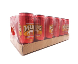 Mug Sarsaparilla Can (24 x 320ml - Carton)