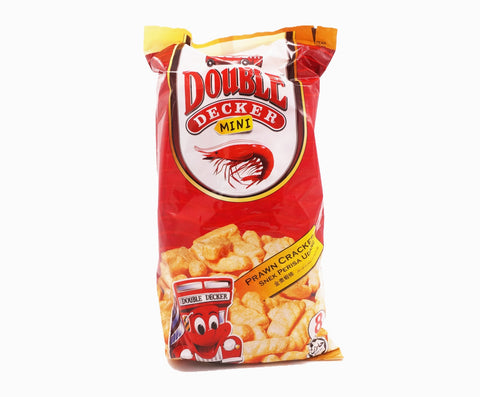 Double Decker Mini Crackers Family Pack - Prawn (8s x 15g – Piece)