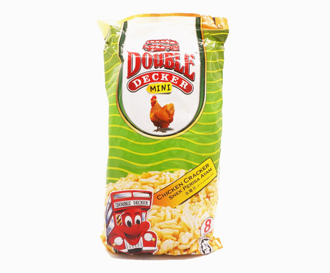 Double Decker Mini Crackers Family Pack - Chicken (8s x 10g – Piece)