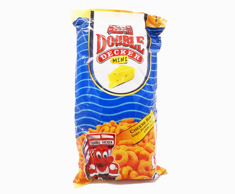 Double Decker Mini Rings Family Pack - Cheese (8s x 15g – Piece)