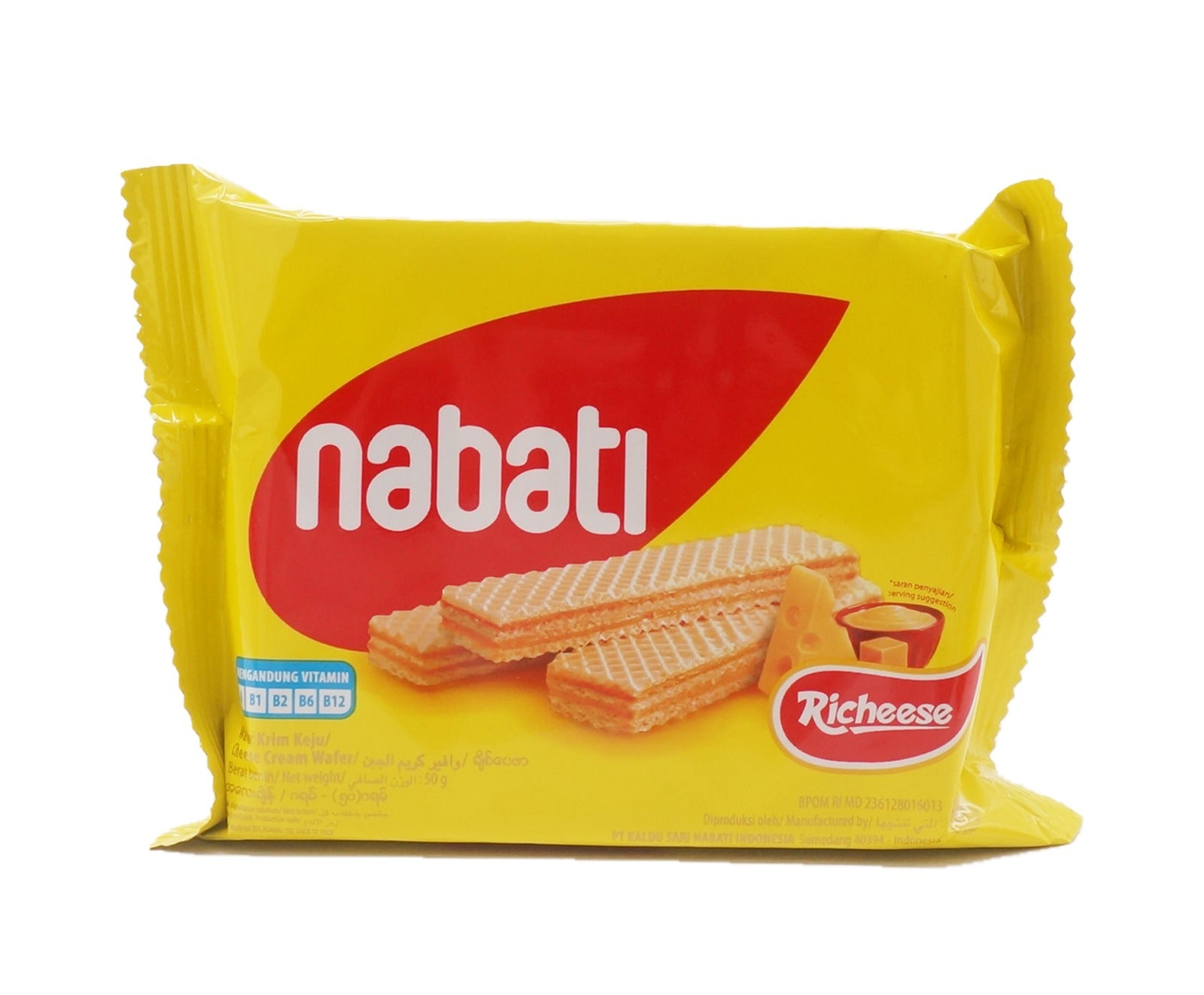 Nabati Biscuit - Cheese (50g – Piece)