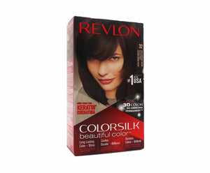 Revlon Colorsilk Hair Color - #32 Dark Mahogany Brown (195g – Piece)