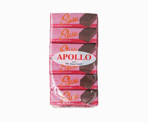 Apollo Coated Wafer - Milk (12s x 12g – Piece)