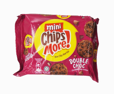 Chipsmore Cookies Mini - Double Chocolate (80g – Piece)
