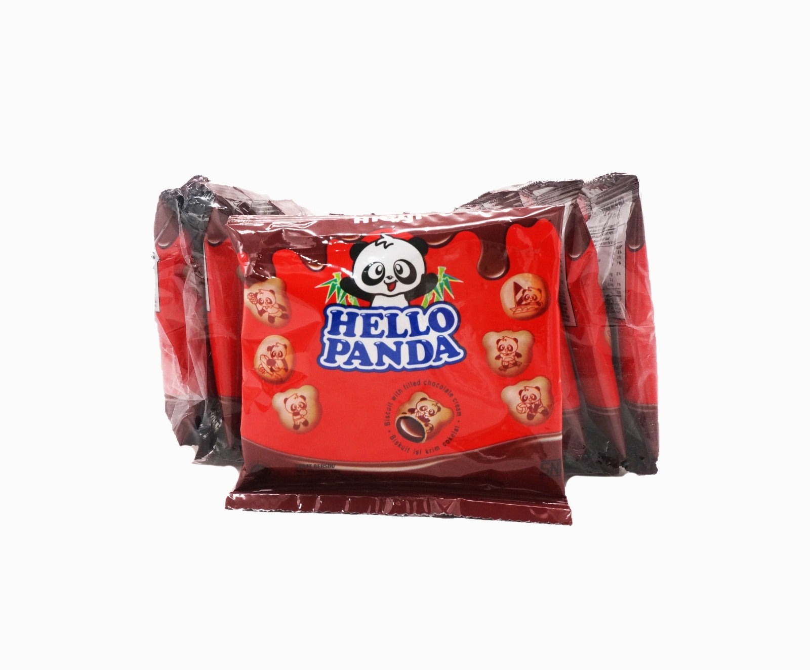 Meiji Hello Panda Biscuits Pack - Chocolate (10s x 10g – Piece)