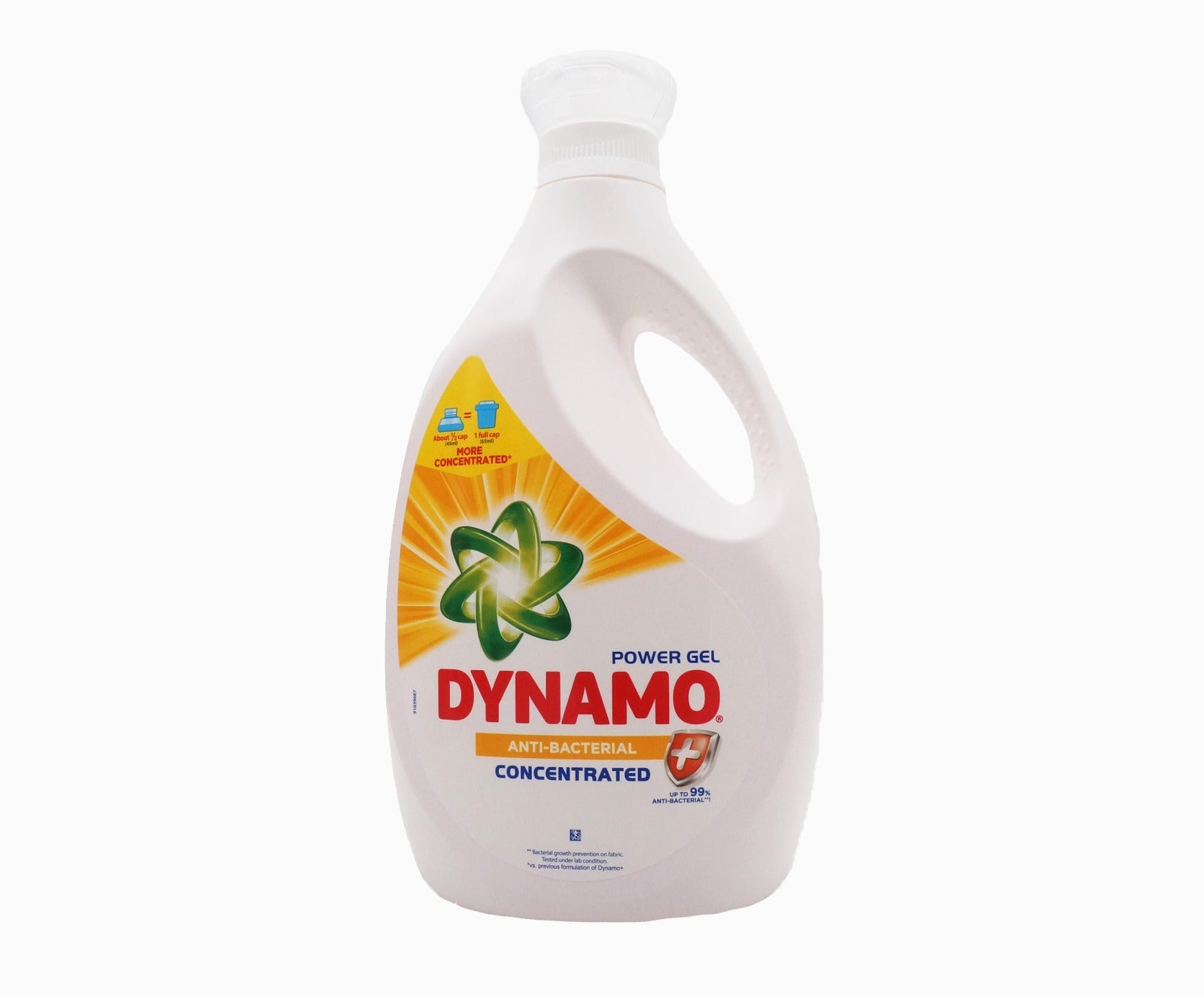 Dynamo Power Gel Detergent - Anti Bacterial (2.7Kg – Piece)