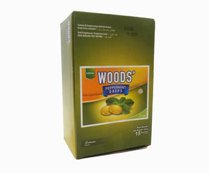 Woods Peppermint Drops - Lemon (15s x 15g – Box)