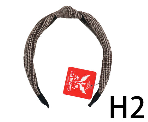 Scarf Hair Band with Knot - H2 (59g – Piece)