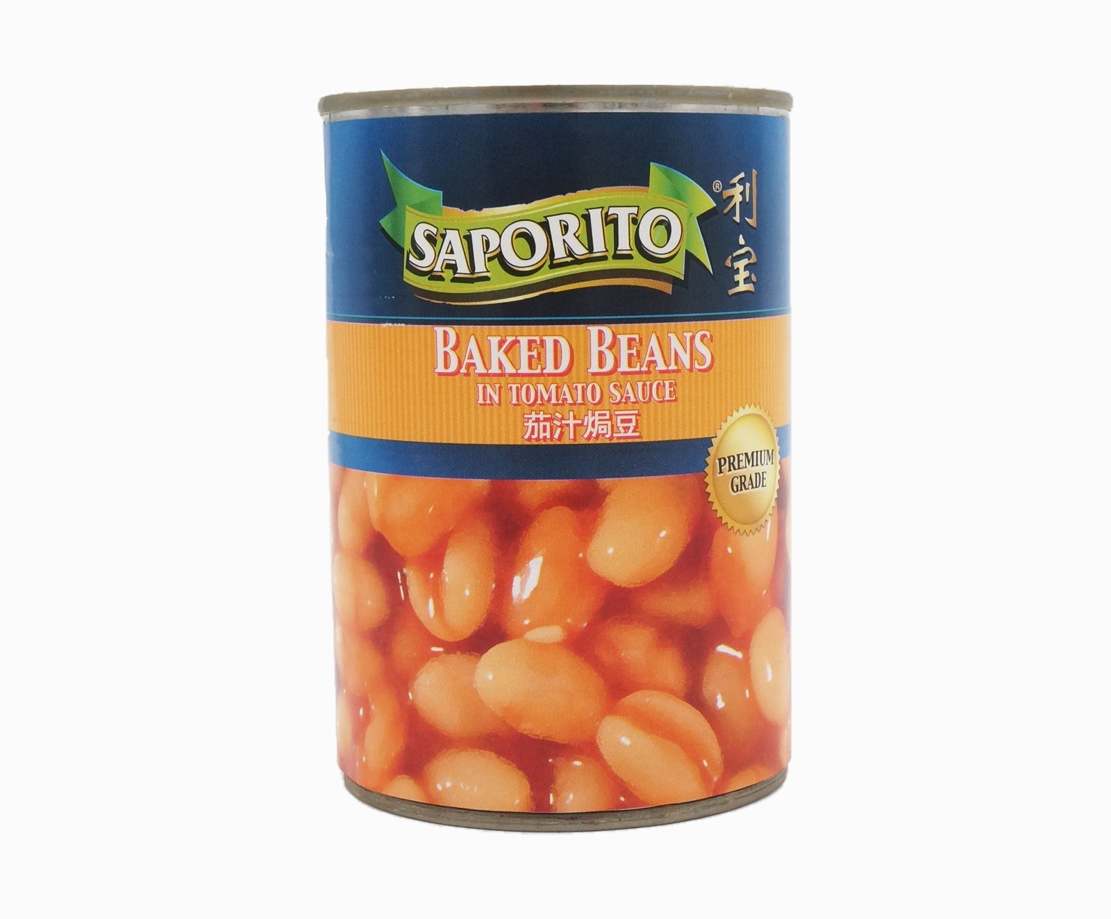 Saporito Baked Beans in Tomato Sauce (420g – Piece)