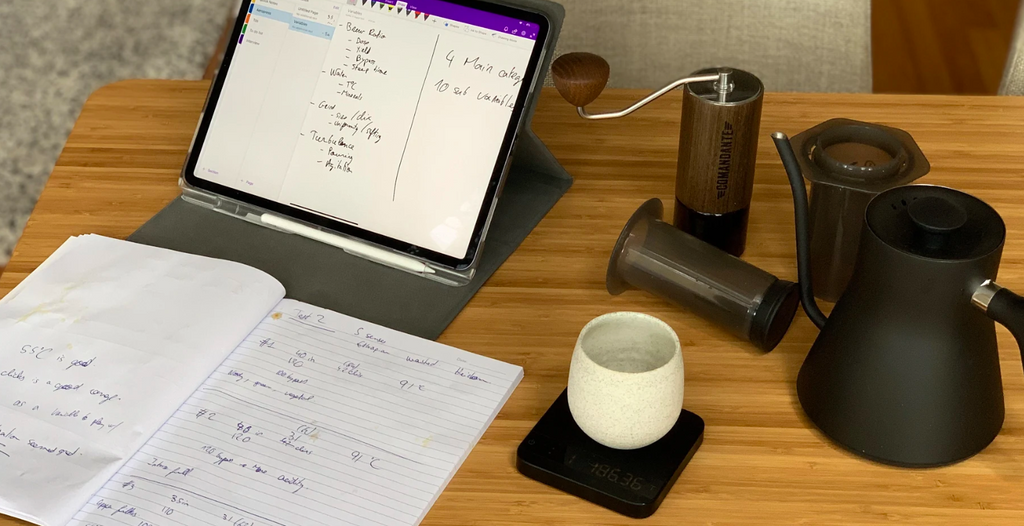 Training Log #5 by Simon Gautherin - Preparing for the Aeropress Championship