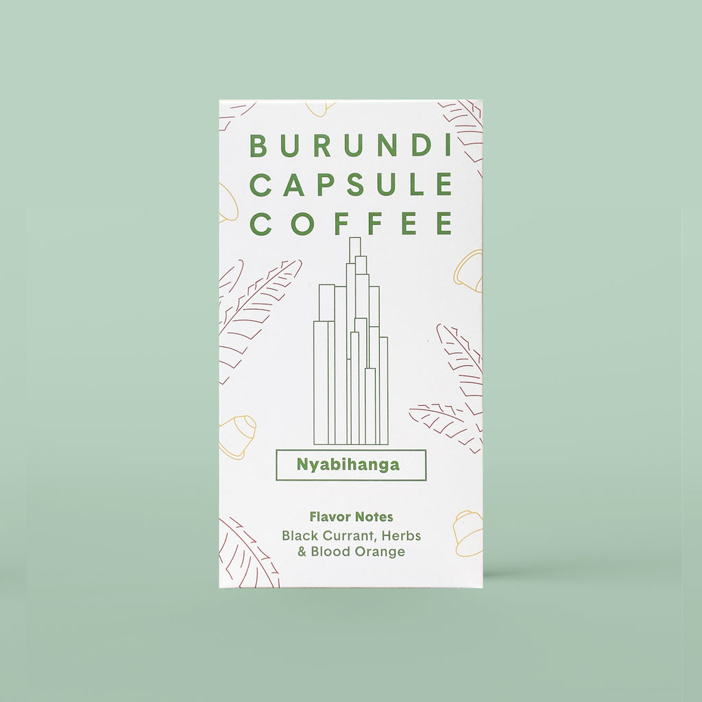 Burundi Compostable Coffee Capsule