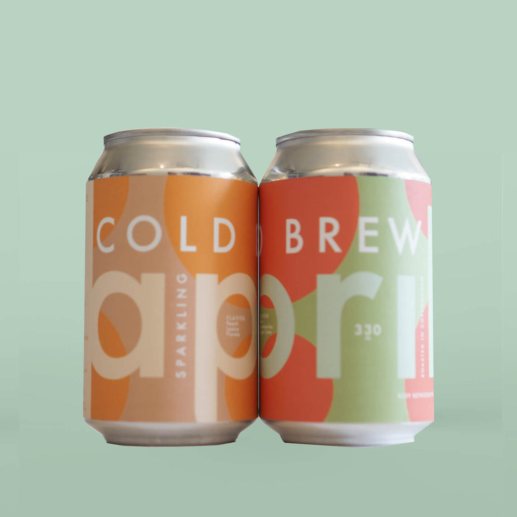Sparkling Cold Brew 4-Pack 50/50