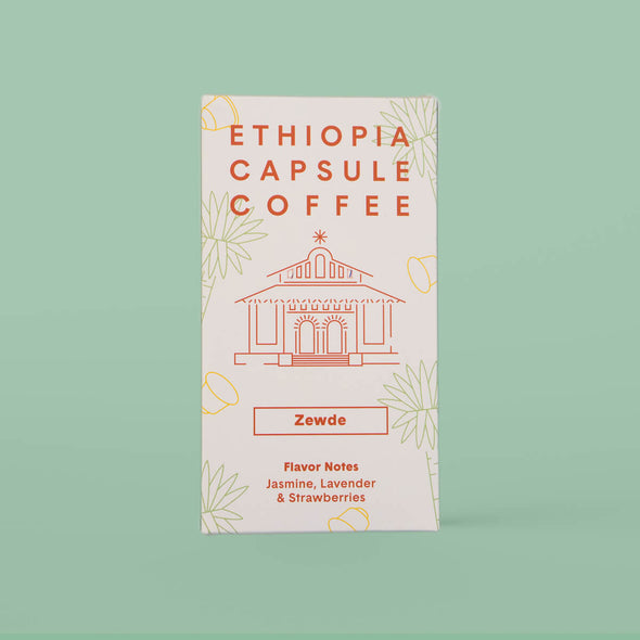 Ethiopian Compostable Coffee Capsule