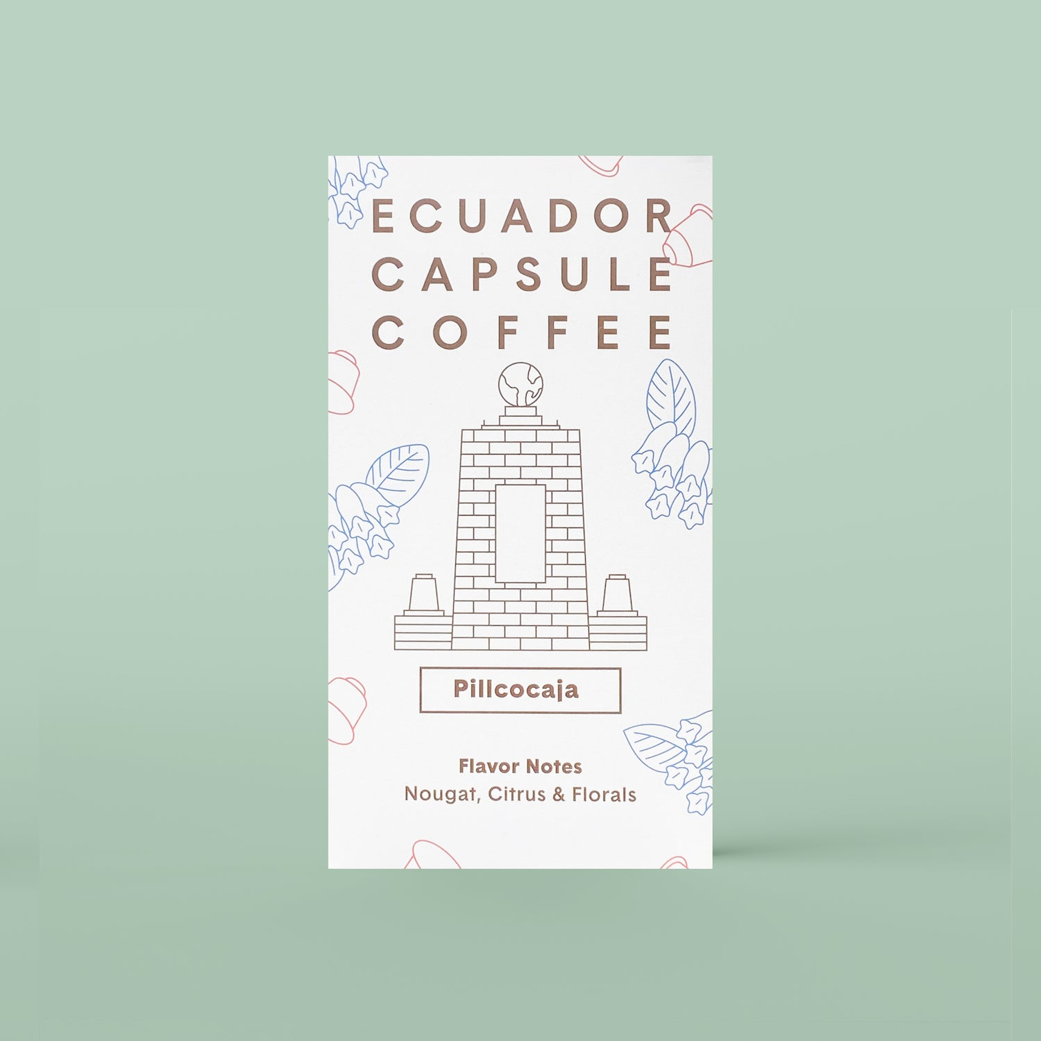 Ecuador Compostable Coffee Capsule