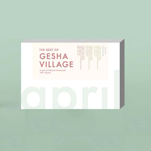Limited Gesha Village 1931 Gesha Box