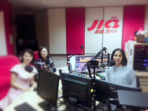 Interviewed at 883 Jia FM