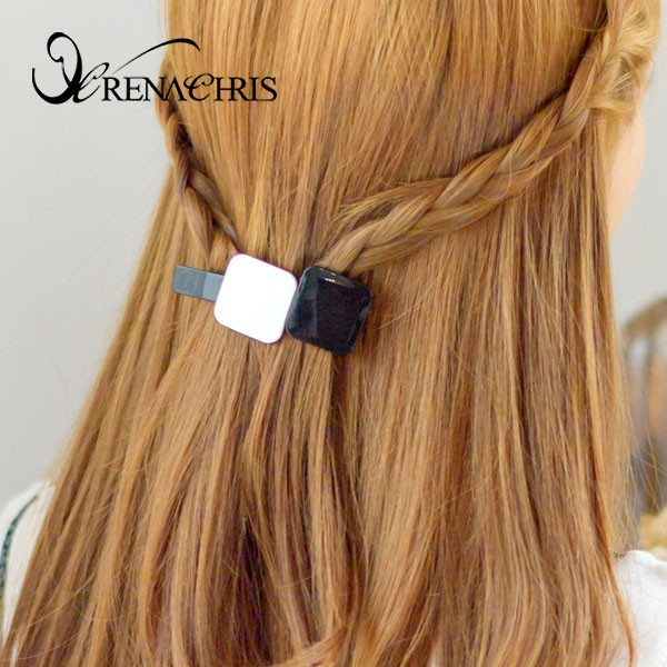 Back Square Barrette