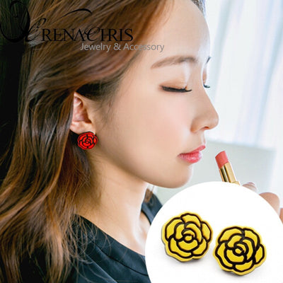 Bella Rose Earring