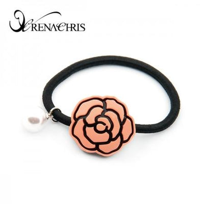 Bella Rose Ponytail Holder