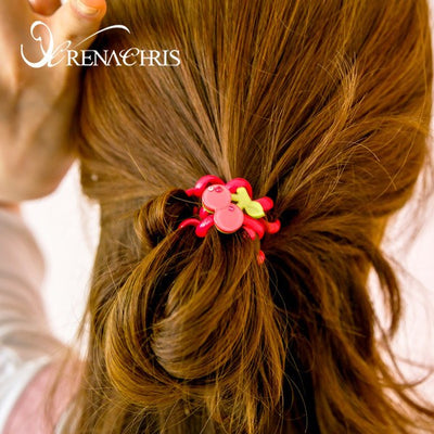 Cherry Ponytail Holder