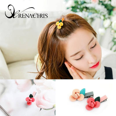 Flower Hair Clamp