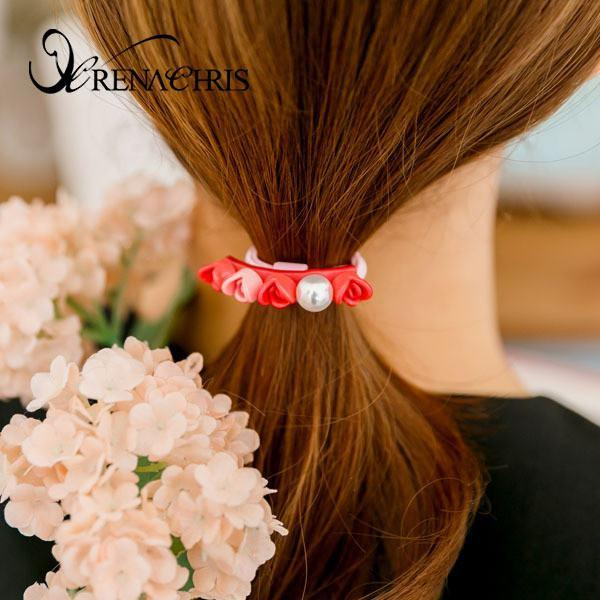 Loving Rose Ponytail Holder