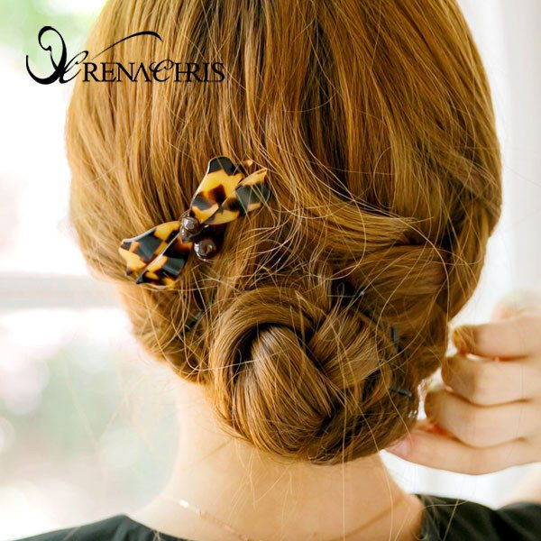 Ribbon Line Hair Comb
