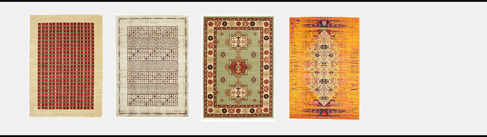 Buy rugs by colour red brown pink orange blue ivory beige green yellow multicolour