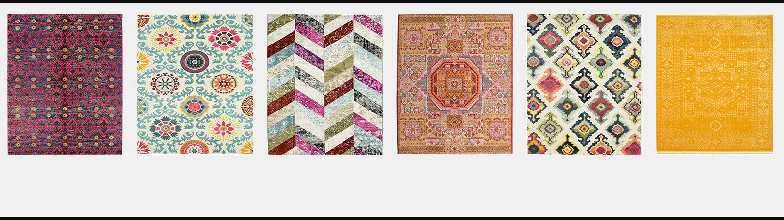Buy New Arrivals Vibrant Colour Spring Rugs