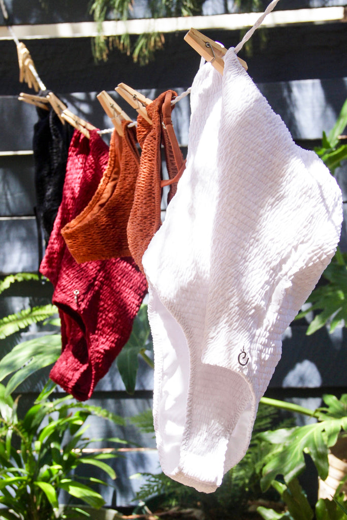 Drying Swimwear Naturally