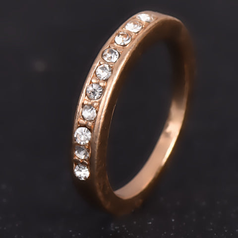 Korean Style Small Imitation Diamond Ring