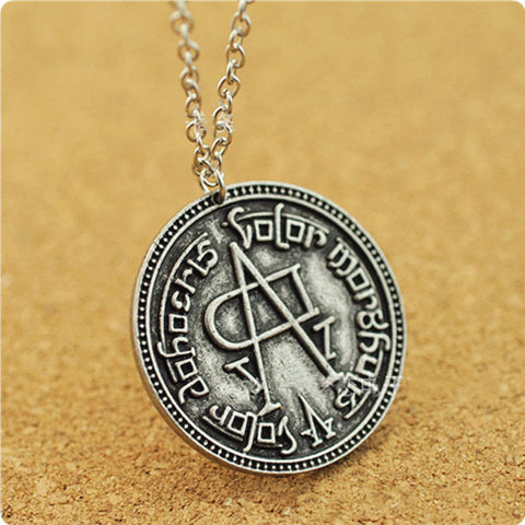 The Faceless Man Coin Necklace