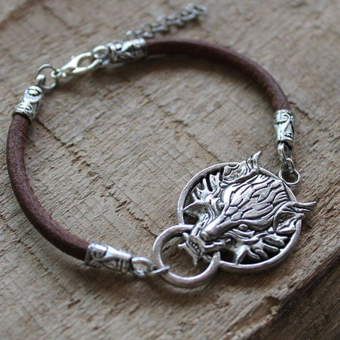 Game of Thrones Stark House Bracelet
