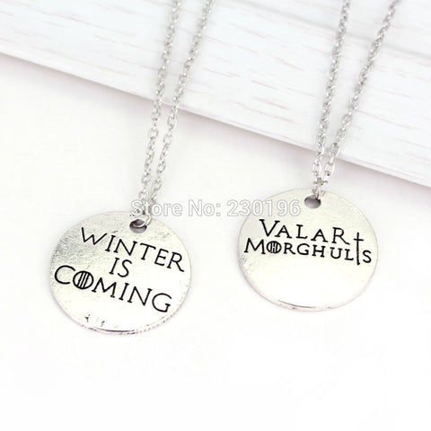 Game Of Throne Necklace