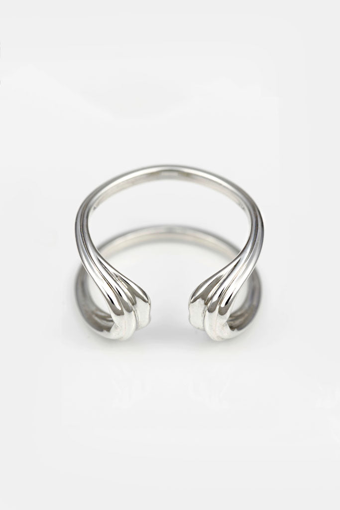 CLINE Silver Ring — OHLINA | Contemporary 3D Printed Fine Jewellery