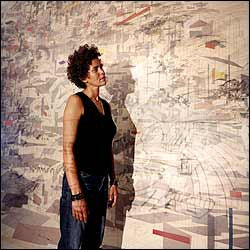 Julie Mehretu's Art21 videos offer so much inspiration