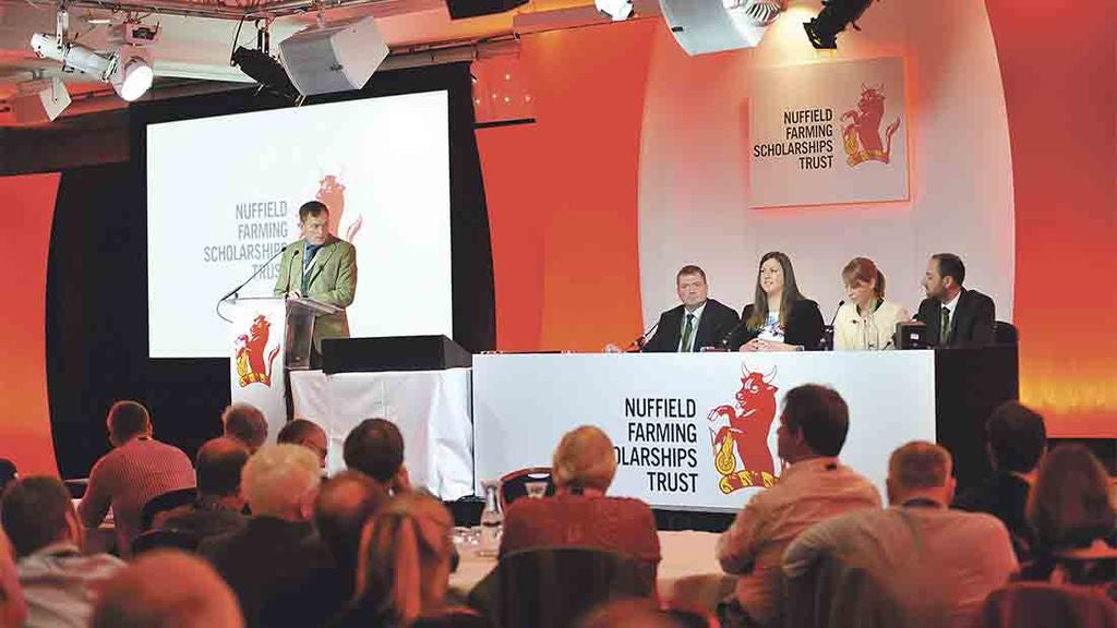 Farmers Guardian at the Nuffield Conference
