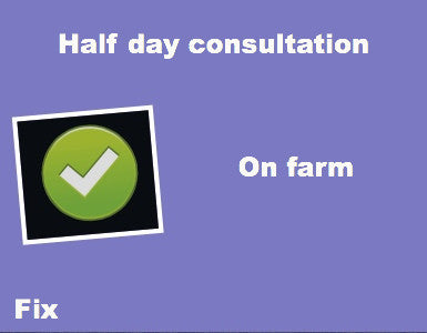 Half Day Consultation On Farm