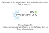 1.1 Pruex Cynddylan - Straw Chopper applicator kit