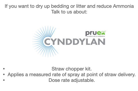 Pruex Cynddylan - Straw Chopper applicator kit