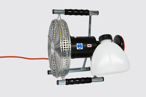 0.1.2  Hand Held sprayer with fan, battery and charger.