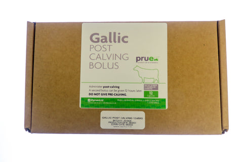 1.0 Dry Period End - Gallic Post Calving Bolus x 12
