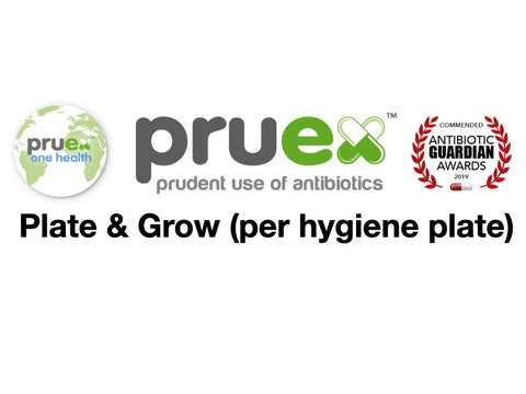 1.9 Plate and grow - per Hygiene plate