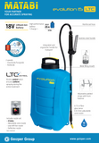 4.1.3 Battery Operated Mist 15 Litre (AHS MIST)